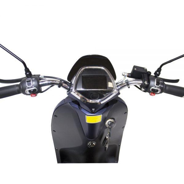 moto electrica grace azul scooter